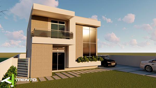 Projeto casa em guaratuba foto 02