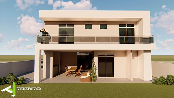 Projeto casa em guaratuba foto 05