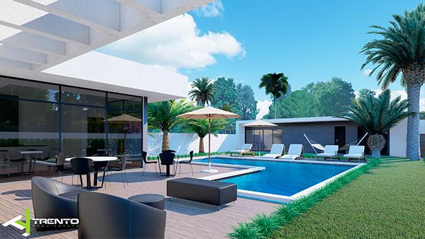 Projeto casa com piscina em guaratuba foto 06