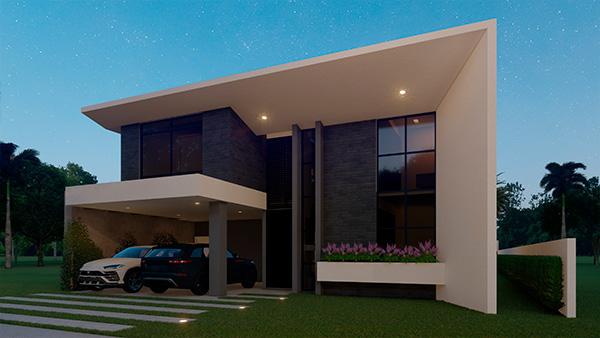 Projeto casa com piscina em guaratuba foto 09